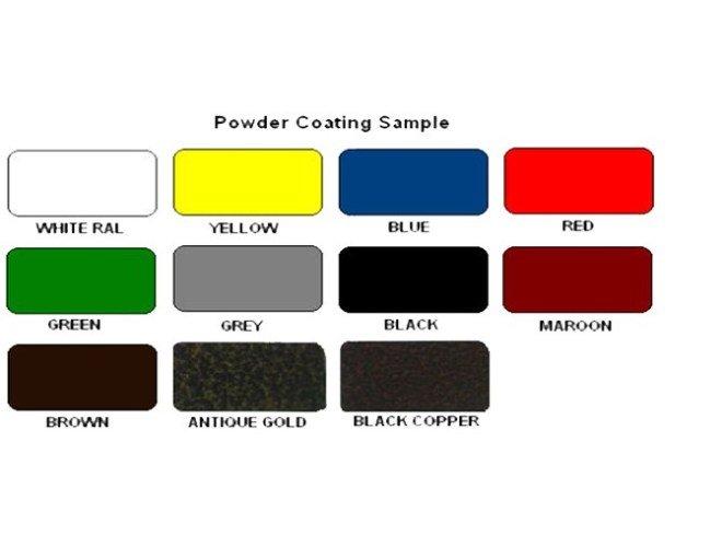 powder coating sample